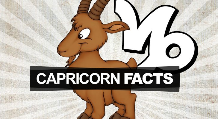 Capricorn sign zodiac facts